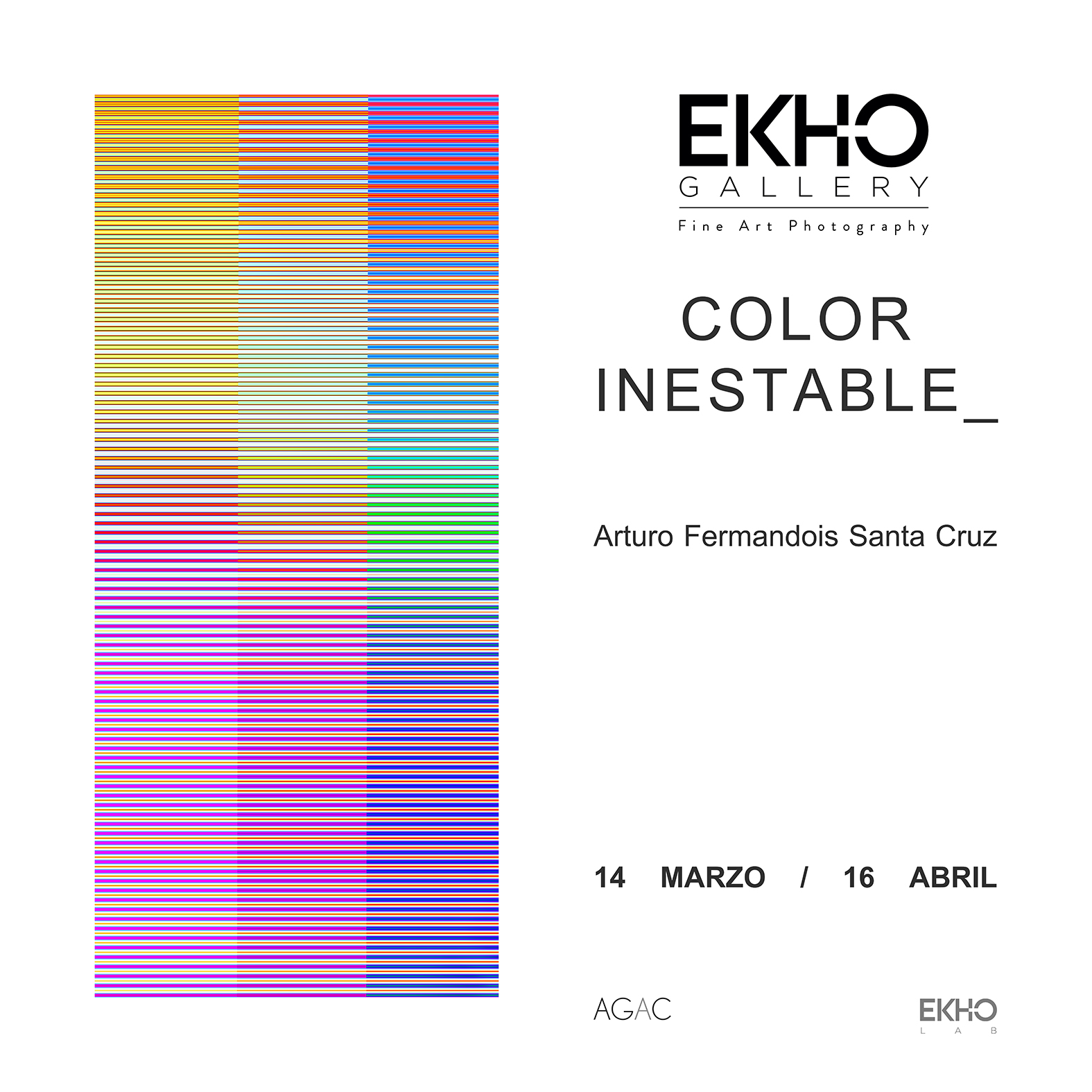 COLOR INESTABLE_